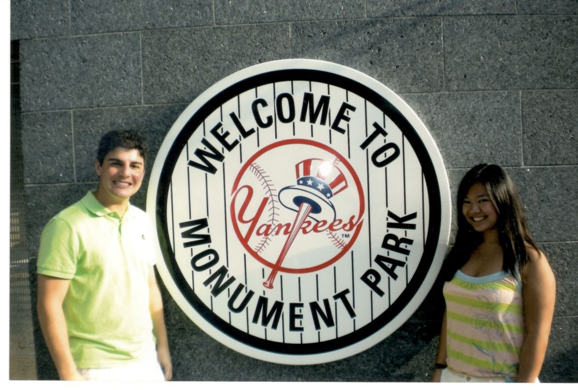 Yankee Stadium photo Monument Park.