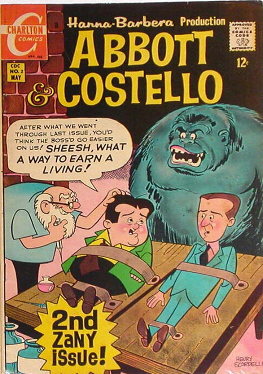 COMIC abbot and Costello