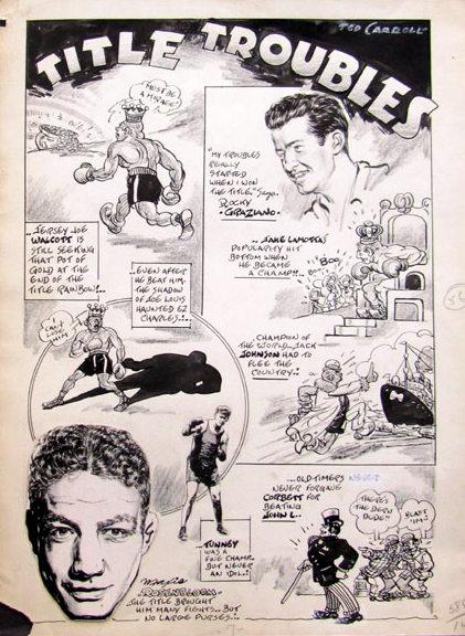 USABNNew boxing cartoon Graziano.