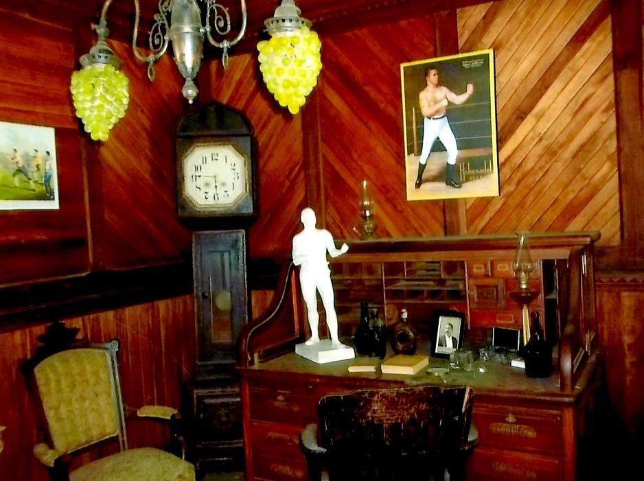 Interior of William Muldoon's Office