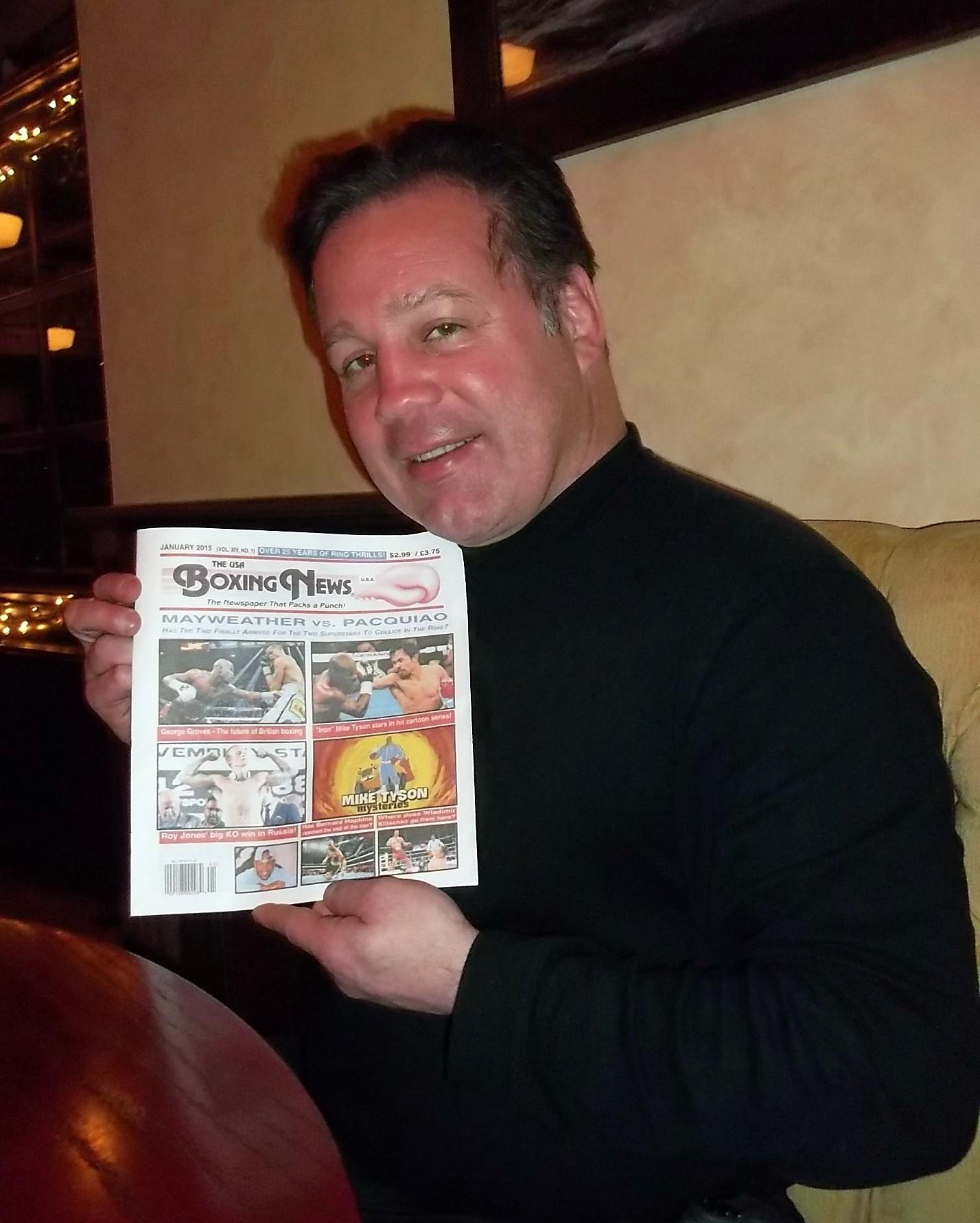 Bobby Czyz Interiew with newspaper.