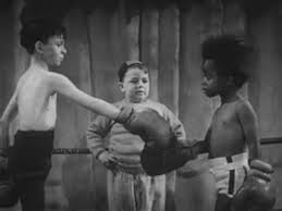 Buckwheat vs. Alfalfa. Little Rascals video fight. CLICK PHOTO TO SEE VIDEO OF FUNNY FIGHT)