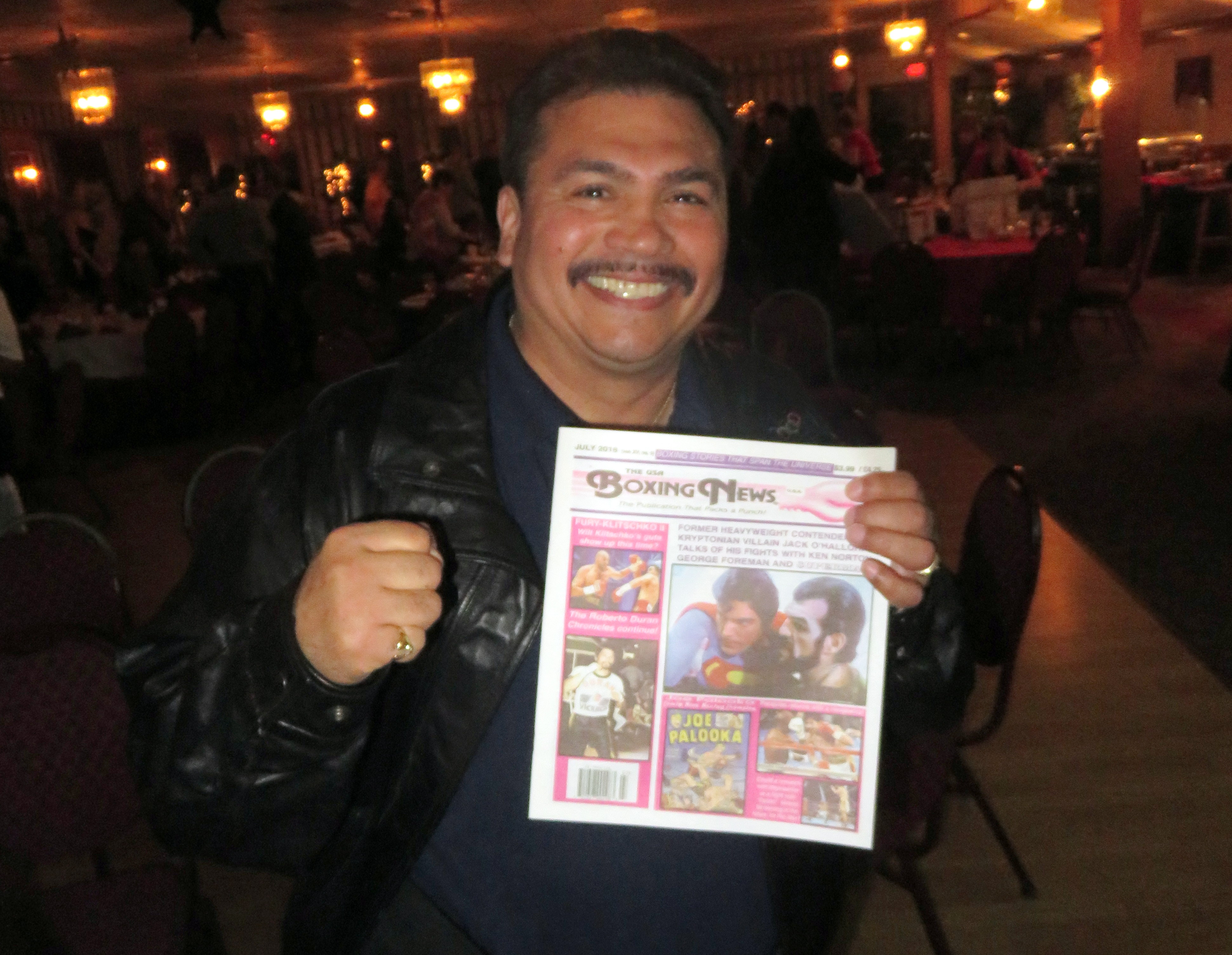FINALThe USA Boxing News with 1984 Olympic Gold Medalist and IBF bantam contender Paul Gonzalez.2