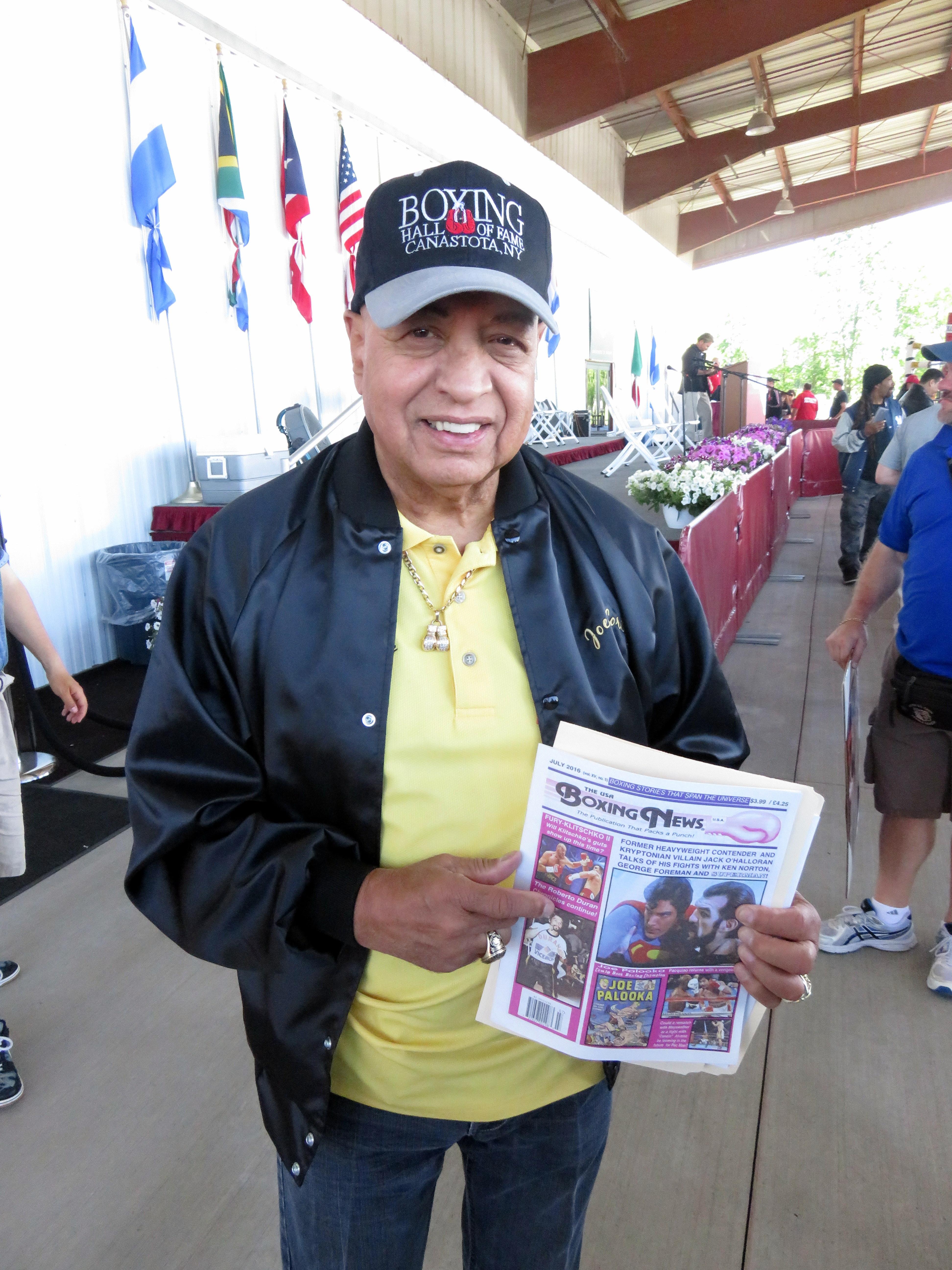 FINALThe USA Boxing News with Hall of Fame referee Joe Cortez.FINAL