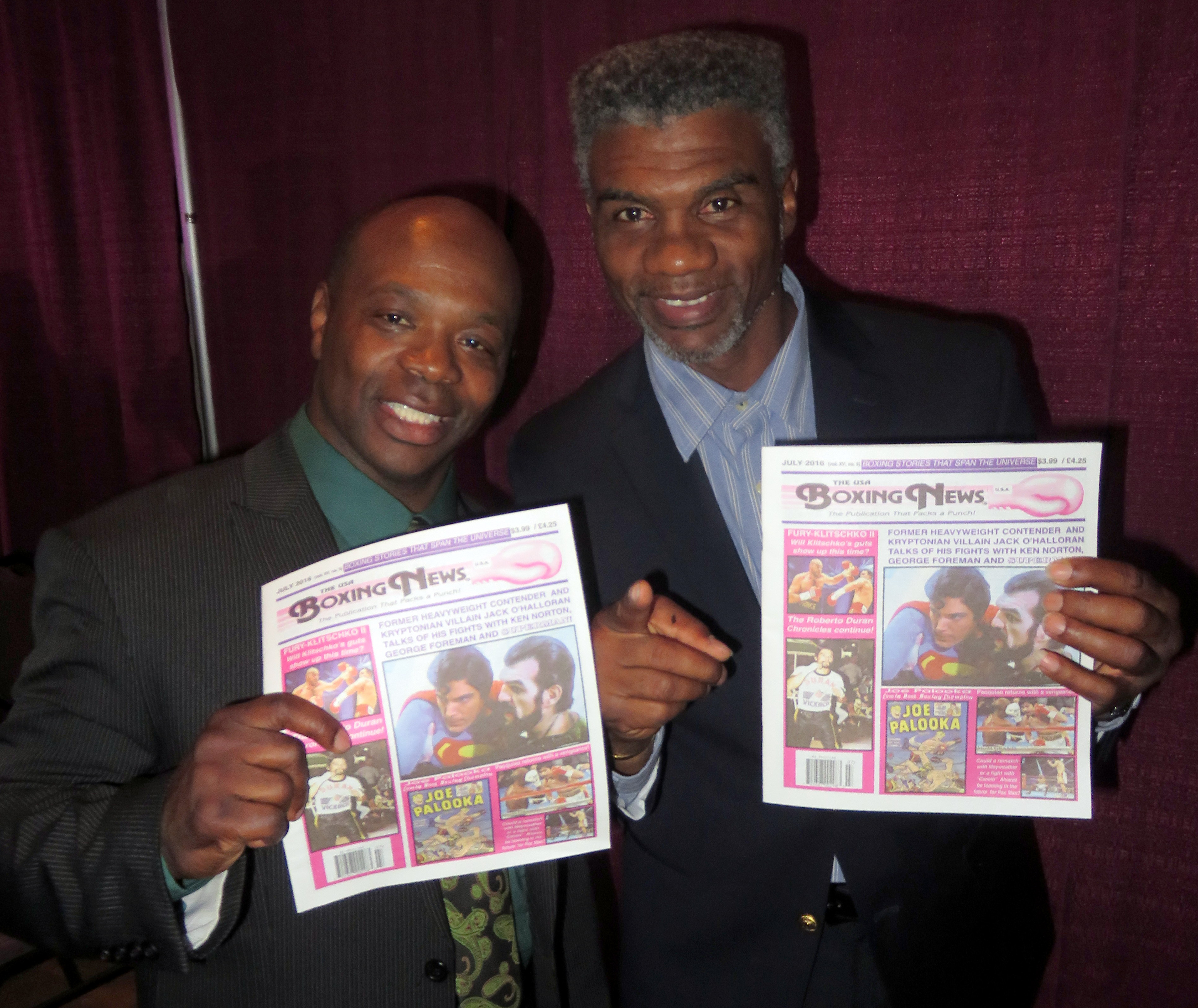 FINALThe USA Boxing News with former IBF super feather king and WBC super bantam champ Tracey Harris Patterson.
