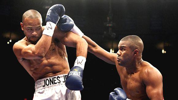 Jones - Trinidad - Trinidad connects with a right.
