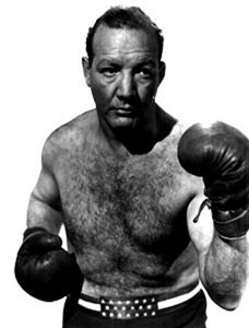Maxie Rosenbloom fight pose.
