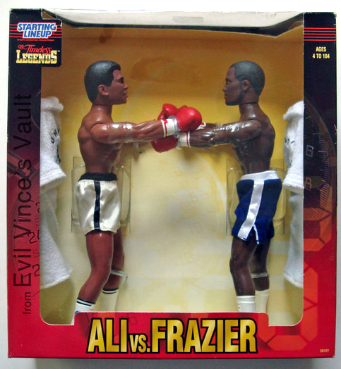Muhammad Ali vs. Frazier dolls.