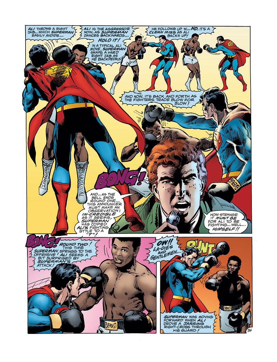 Muhammad Ali vs. Superman.