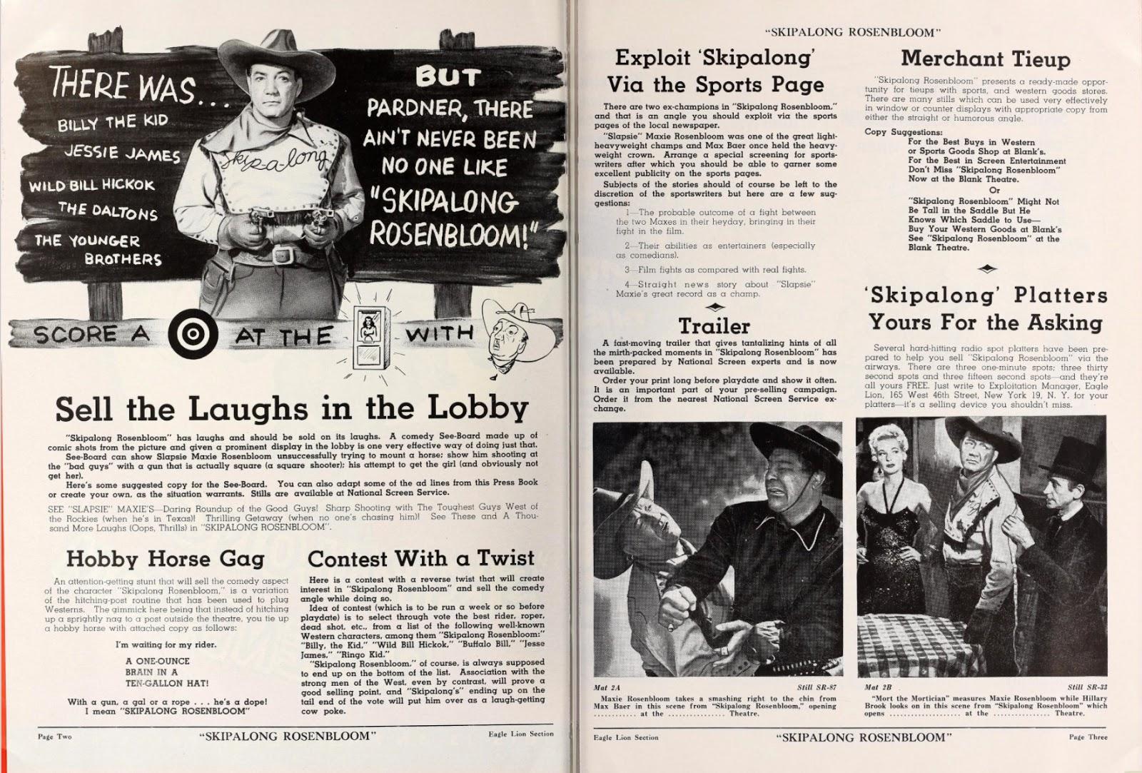 Skipalong Rosenbloom Ad