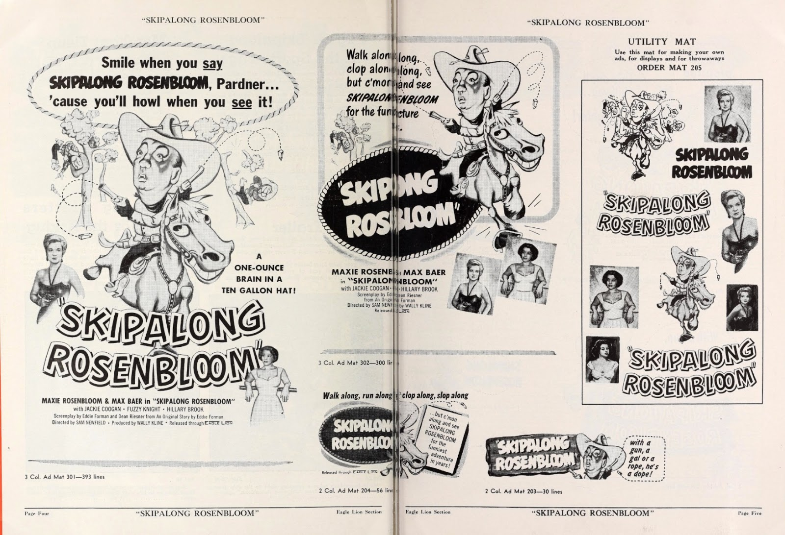 Skipalong Rosenbloom Press Packet