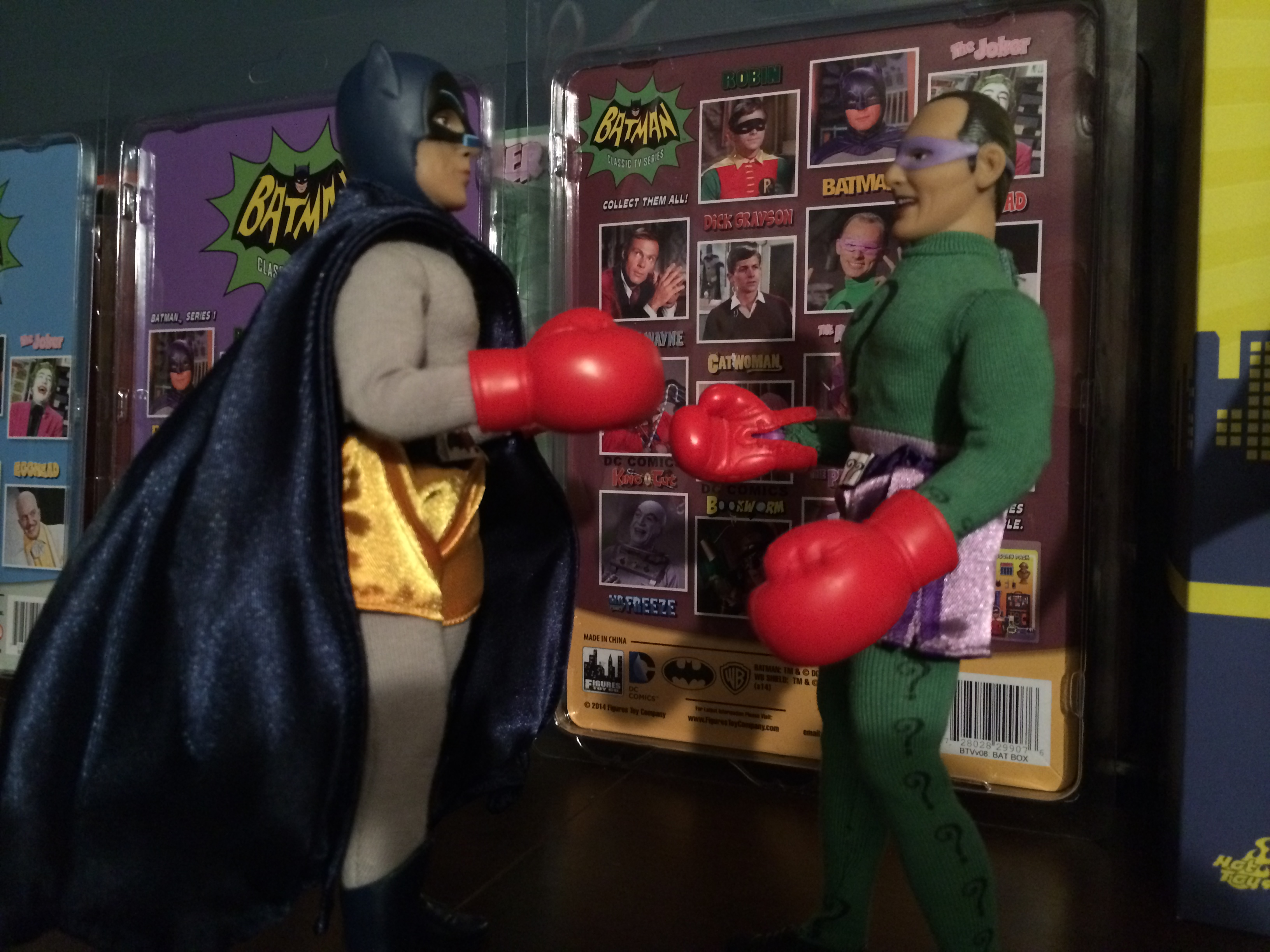 Batman vs. The Riddler
