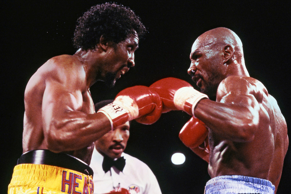 Boxing Legends - Hagler-Hearns great fight.