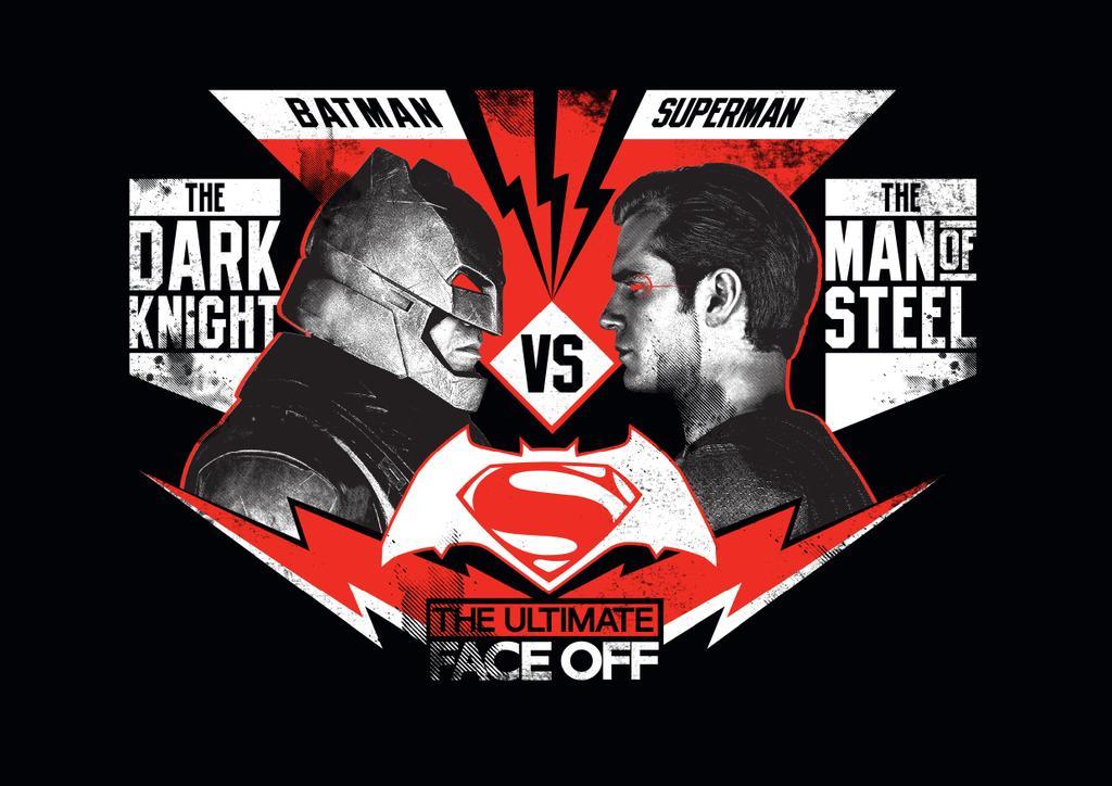 Superman vs. Batman Poster.