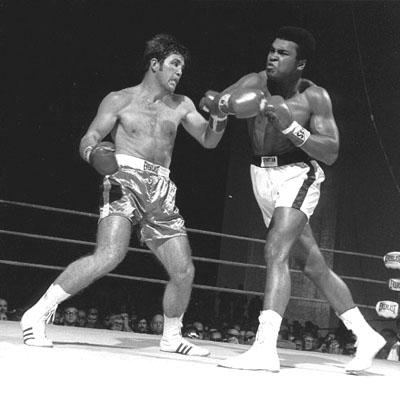 Ali vs. Quarry II action.