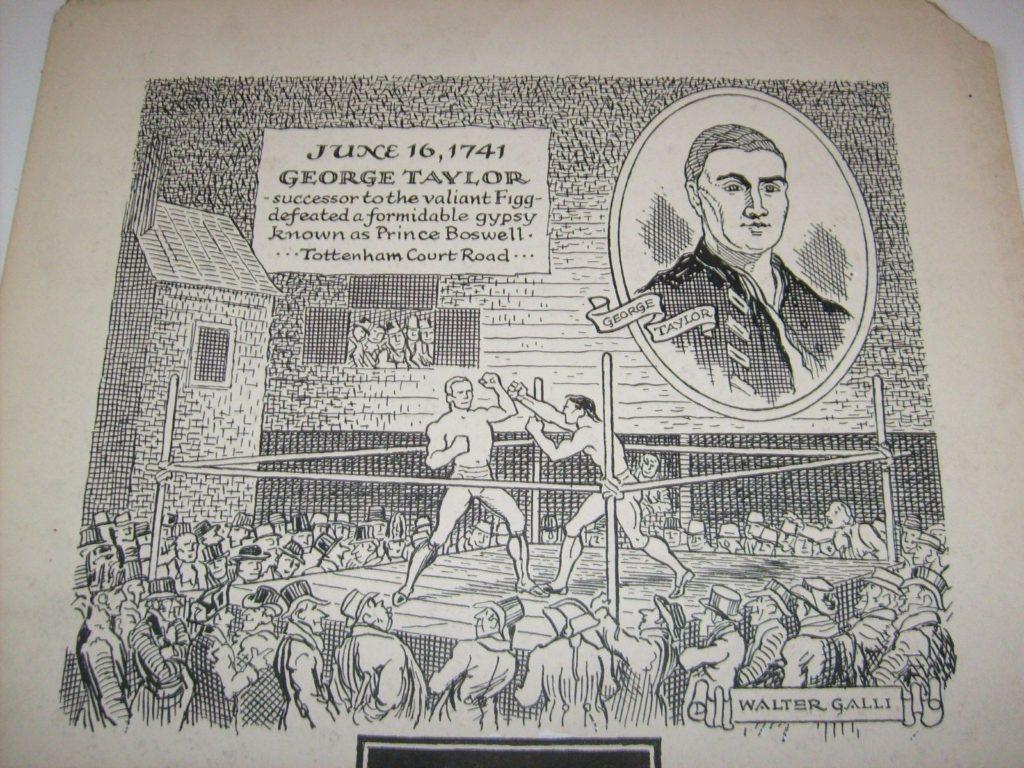 Boxing Cartoon - This History of Boxing 2.