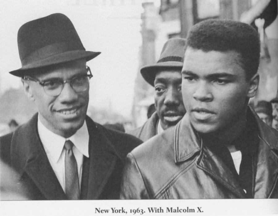 Muhammad Ali and Malcum X in 1963.