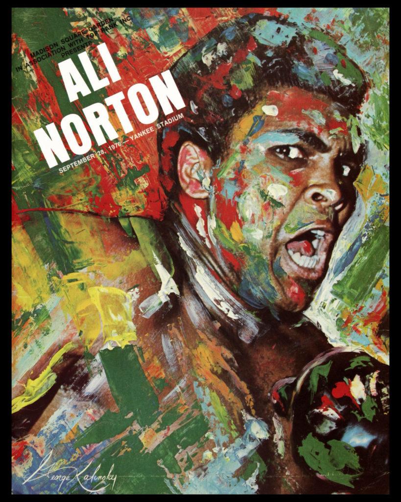 Puglistic program Muhummad Ali vs. Ken Norton III.
