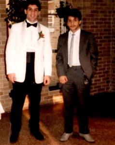 Alex Rinaldi (L) and Gerard Rinaldi (R) in 1984.