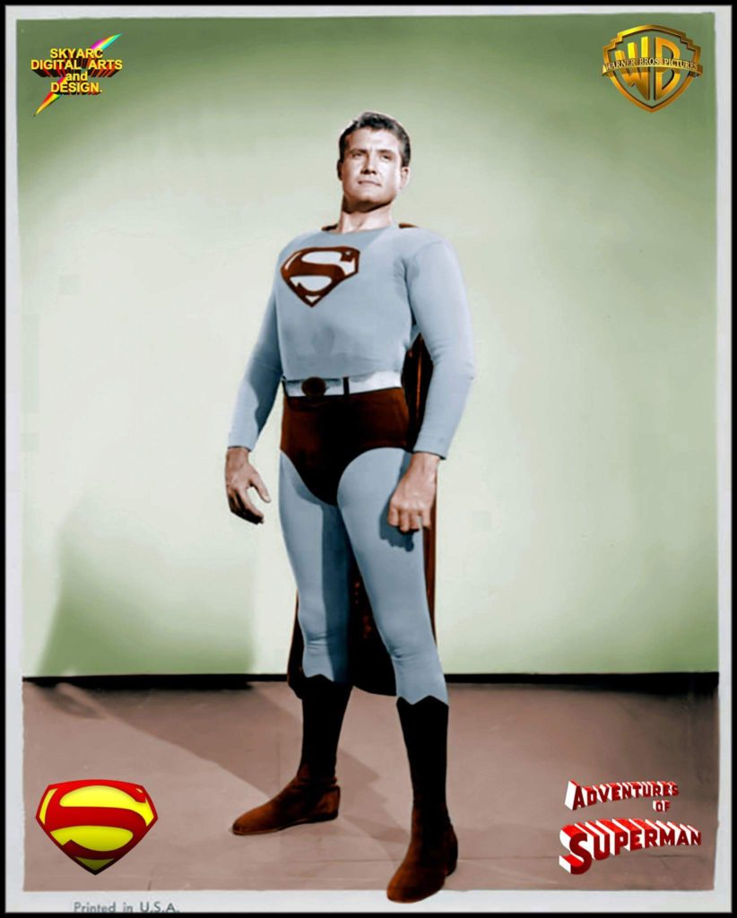 Former amateur light heavyweight champion and Superman icon George Reeves.