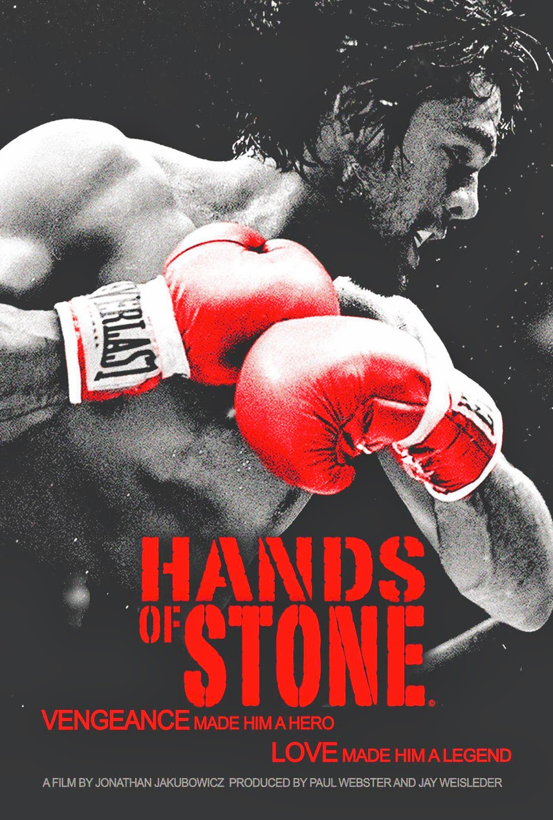 Hands of Stone Movie (CLICK POSTER TO SEE TRAILER OF FILM)