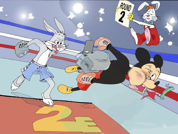 24-bugs-bunny-vs-mickey-mouse