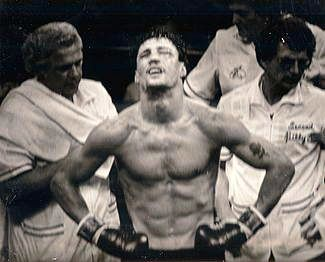 Lenny LaPaglia after the Collins fight