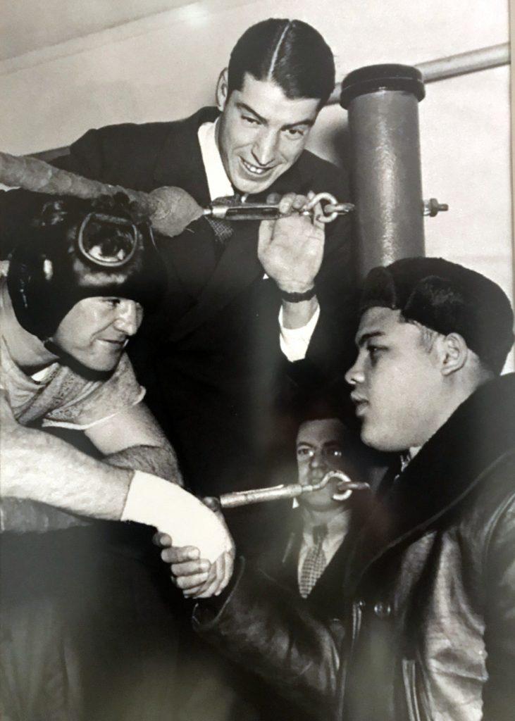 Joe DiMaggio and Joe Louis
