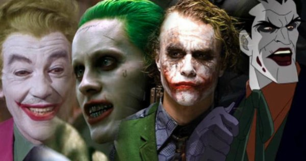 The Jokers over the Years