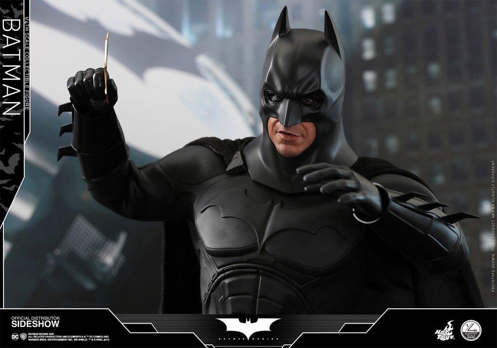 Christain Bale as Batman