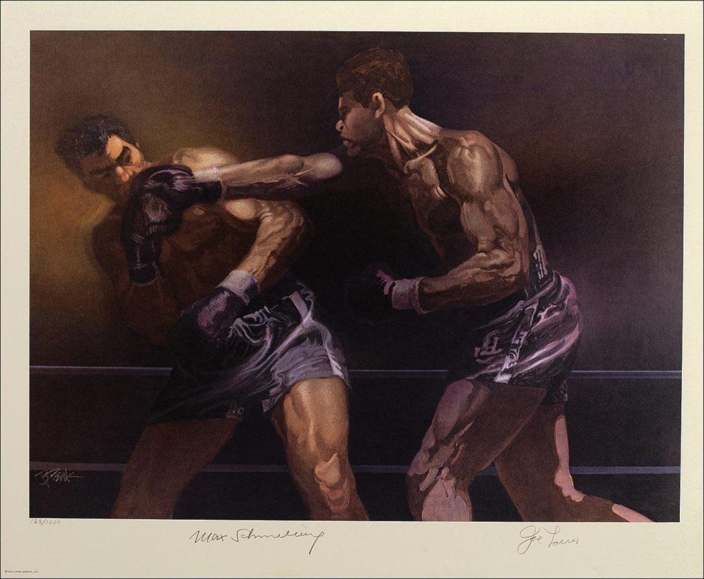 Louis-Schmeling II painting