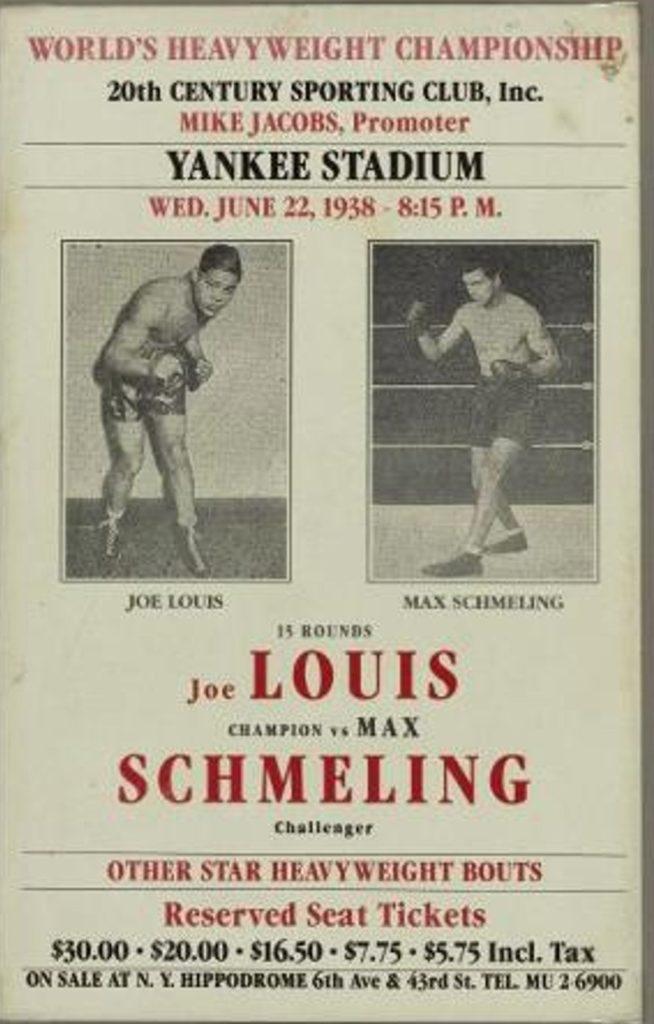 Louis-Schmeling II poster
