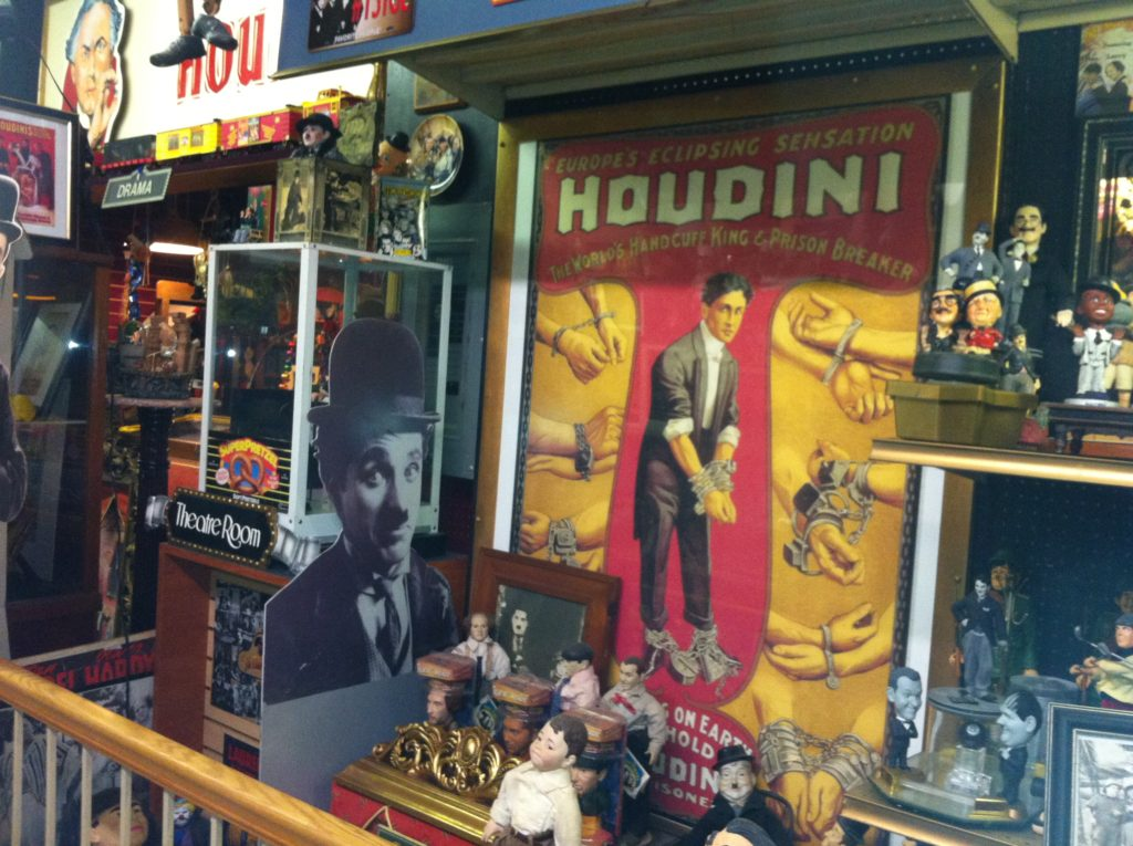 The Houdini collection in the Americana Museum