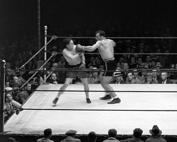 Carnera vs Tommy Loughran
