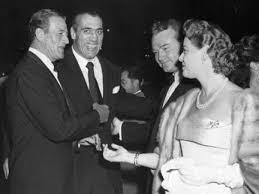 Primo with John Wayne