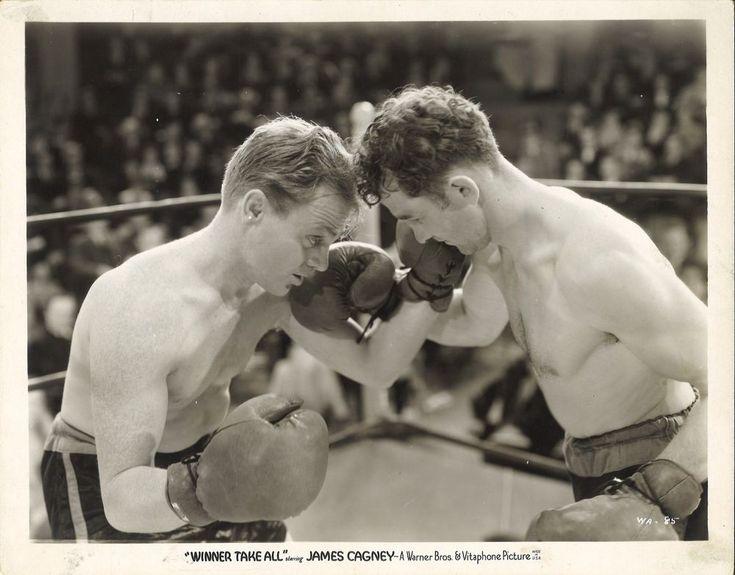 James Cagney Boxing Scene in Winner Take All.