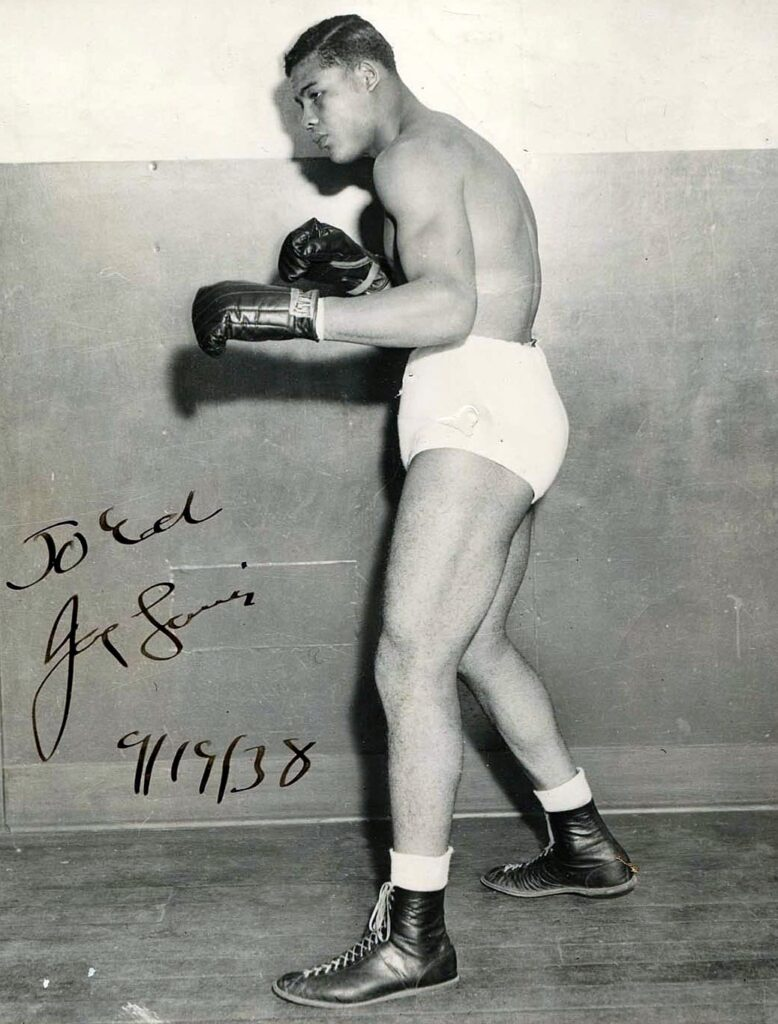 Joseph Louis Barrow, known professionally as Joe Louis, was an American professional boxer who competed from 1934 to 1951. He reigned as the world heavyweight champion from 1937 to 1949, and is considered to be one of the greatest heavyweight boxers of all time.