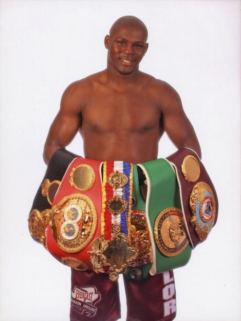 ermain Taylor is an American former professional boxer who competed from 2001 to 2014. He remains the most recent undisputed middleweight champion, having won the WBA, WBC, IBF, WBO, Ring magazine
