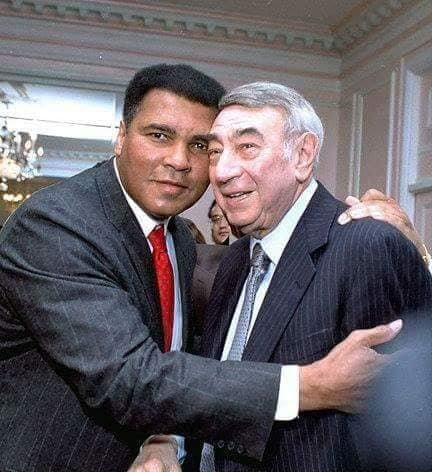 Muhammad Ali and Howard Cosell.