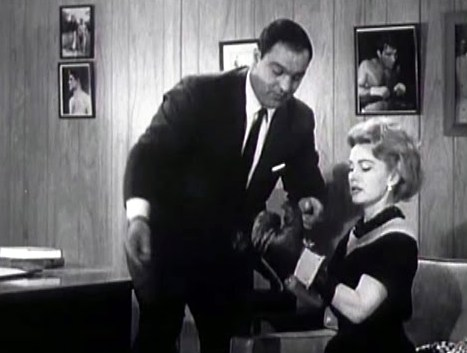 Rocky Marcian with Zsa Zsa Gabor