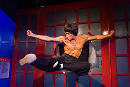 Bruce Lee from the movie Enter The Dragon. (CLICK PHOTO TO SEE A FOOTAGE FROM THE FILM).