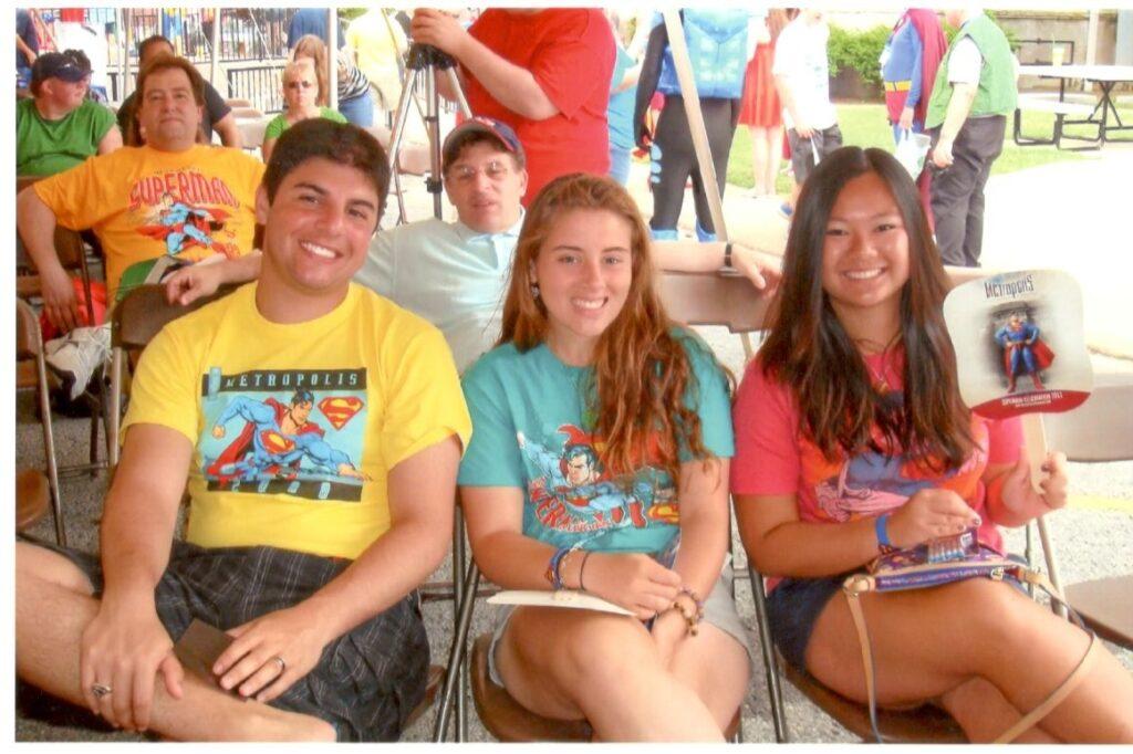 Joseph, Juliann, and Janine Rinaldi