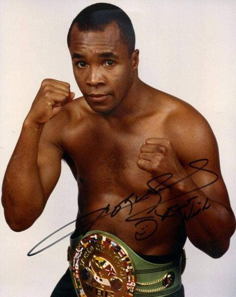 Super Middleweight Champion Sugar Ray Leonard