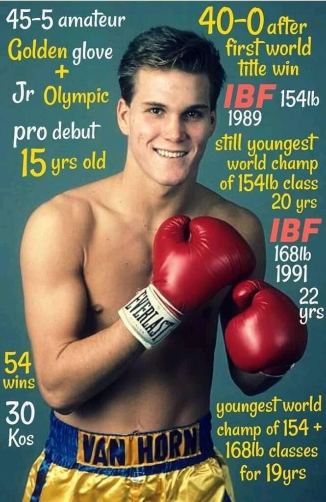 Former IBF Junior Middleweight Champion and IBF super Middleweight Champion