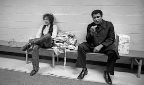 Bob Dylan with Muhammad Ali