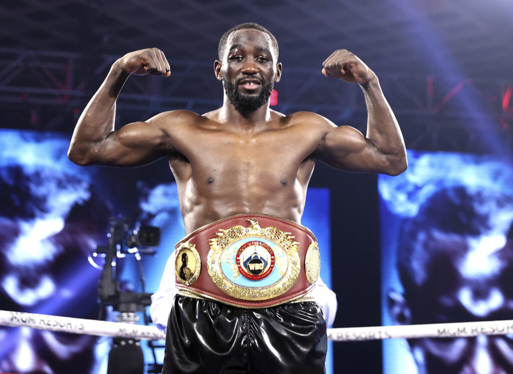 Still the WBO Welterweight Champion of the World - Terence Crawford.