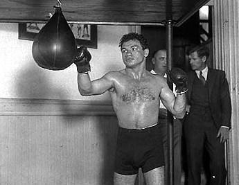 Tony Canzoneri in training