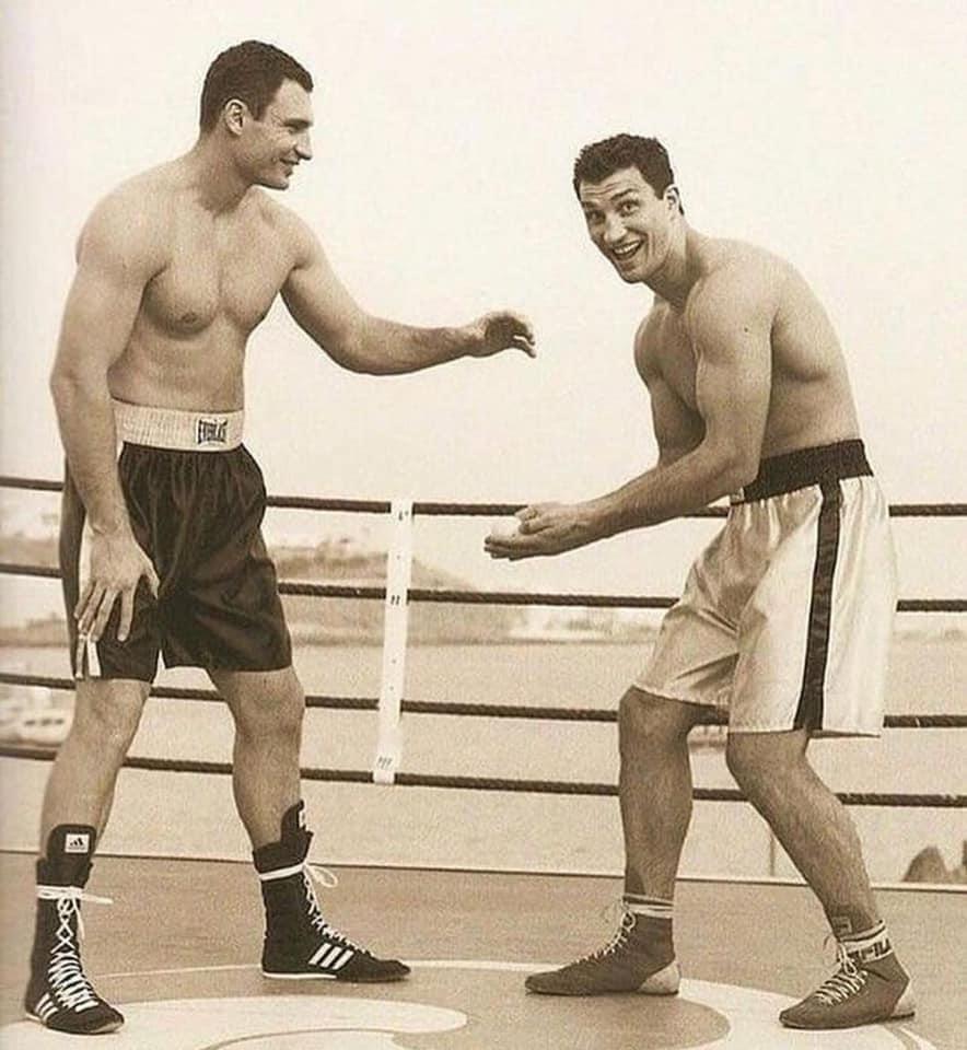 Vitali and Wladimir Klitchko
