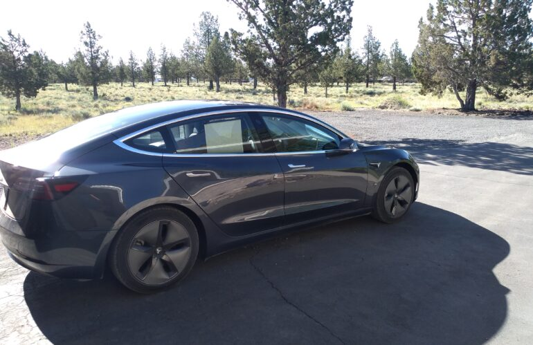 Real Life Model 3 Road Trip:  Day 6 – Where the hell is Prineville OR?