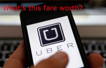 Uber drivers decide fare price